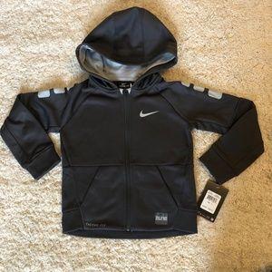 Nike Thermafit Dark Grey Zip Up